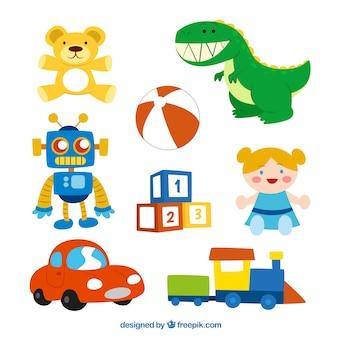 Симпатичные игрушки коллекция