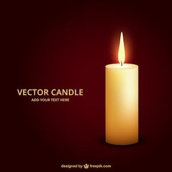 Зажженную свечу