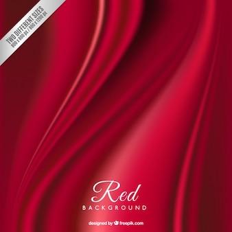 赤い絹の背景