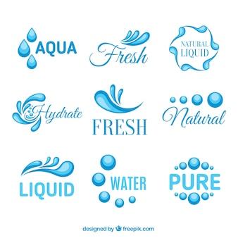 Аква логотипы