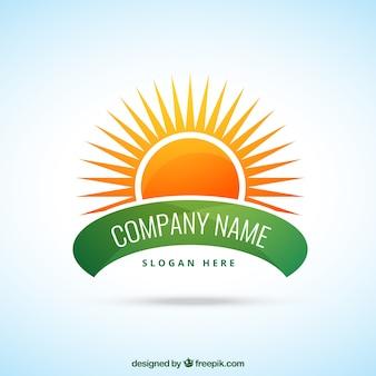 Солнечный логотип