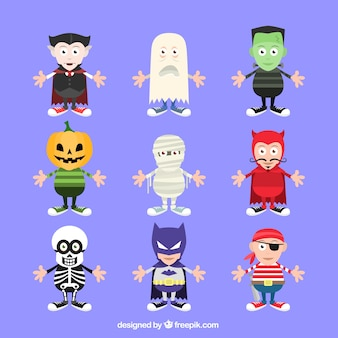 Хэллоуин костюм коллекция