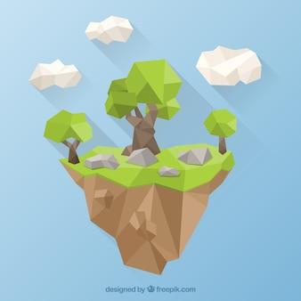 多角形の木