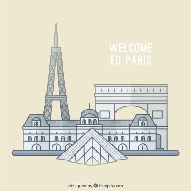 パリへようこそ!
