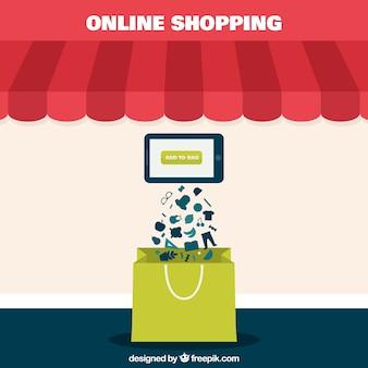 Концепция интернет-магазины