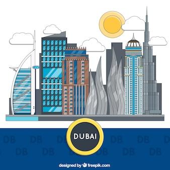 Дубай здания