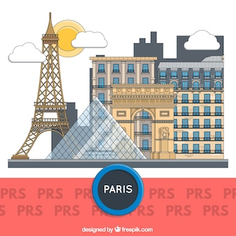 Париж здания