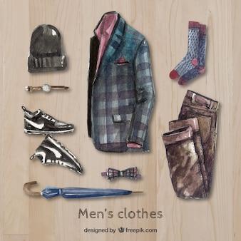 Ручная роспись современных мужскую одежду