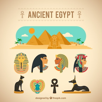 Древние элементы египет