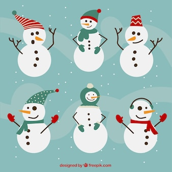Коллекция снеговик