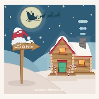 Санта-клаус дом