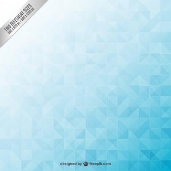 抽象的な青色の幾何学的背景