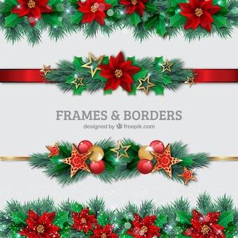 Рождество границы набор