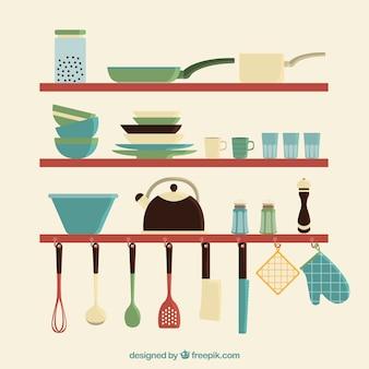 Кухня посуда набор