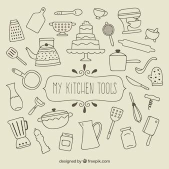 私のキッチンツール