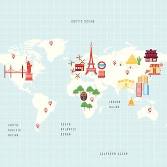 国際文化マップ