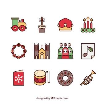 キリスト教のクリスマスのアイコン