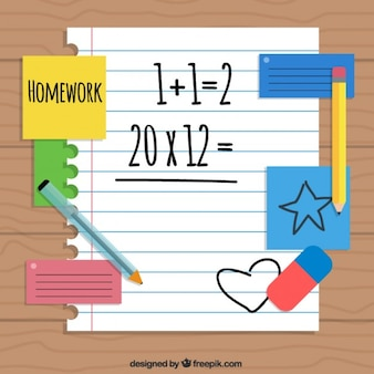 数学の宿題