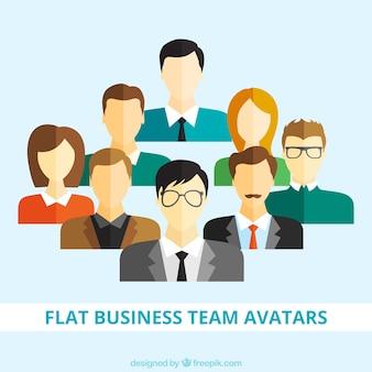 Квартира бизнес аватары команды