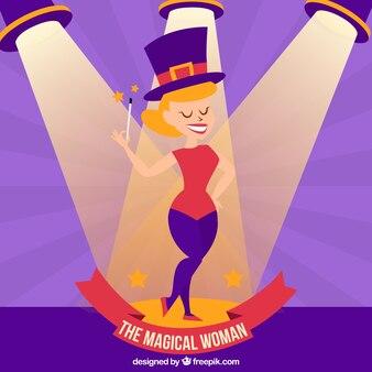 Волшебный женщина иллюстрация