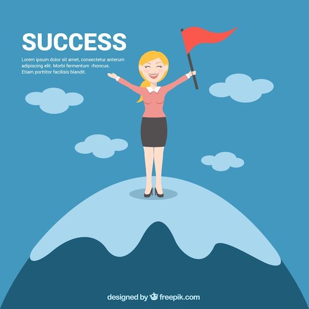 Успешная женщина