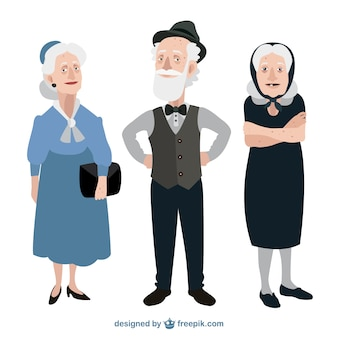 Смешные бабушки и дедушки