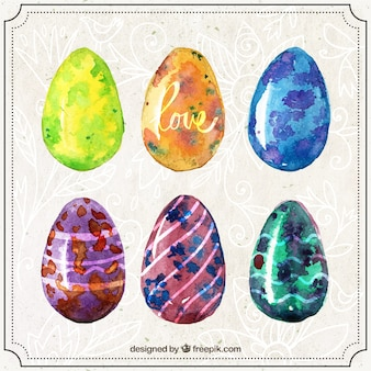 Ручная роспись сбор яиц