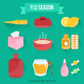 インフルエンザシーズンのアクセサリー