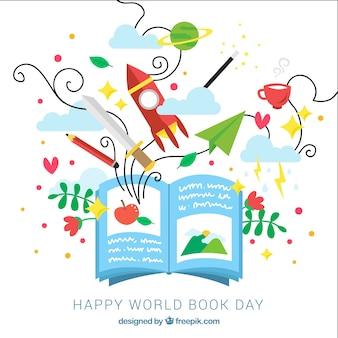 Всемирный день книги дизайн
