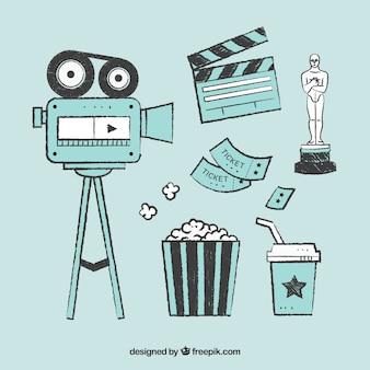 Дизайн коллекции кино
