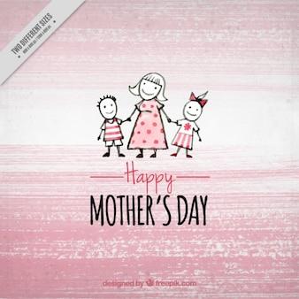 Фон день матери розовый