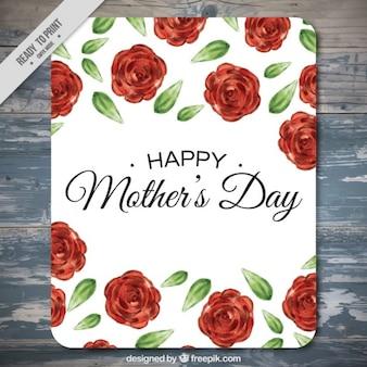 バラハッピー母の日カード