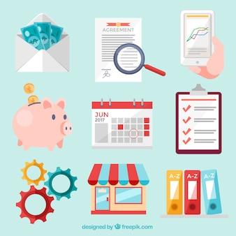 Пакет бизнес-иконок
