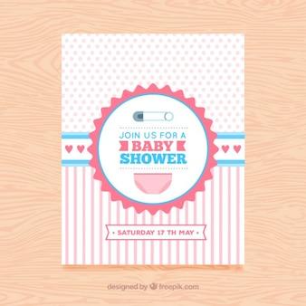 女の赤ちゃんの到着カード