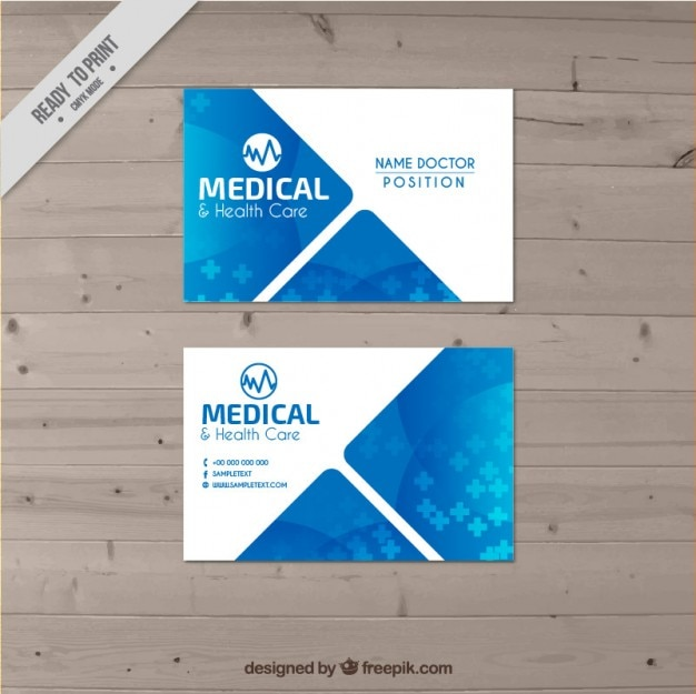 Визитная карточка доктор