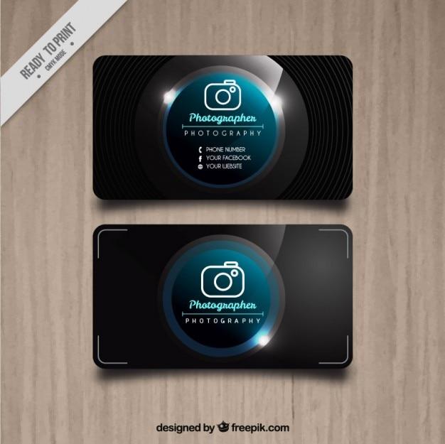 写真スタジオ明るいカード