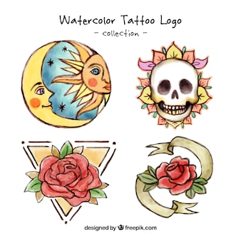 Ручная роспись художественные татуировки