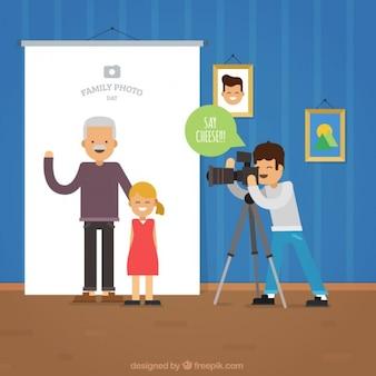 Семейный фотосессия