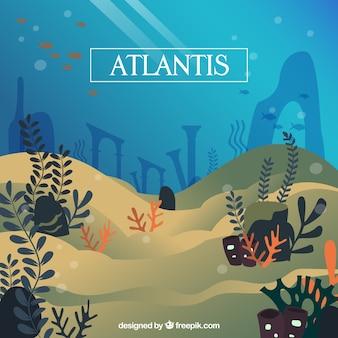 風景の海底