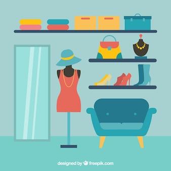 Мода магазин одежды