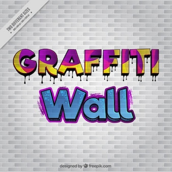 落書きの壁