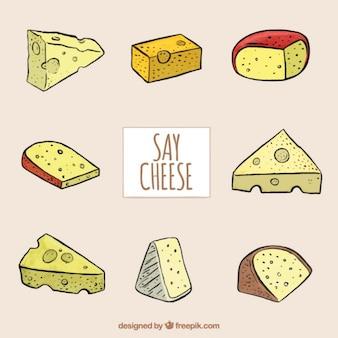 伝統的なチーズの選択