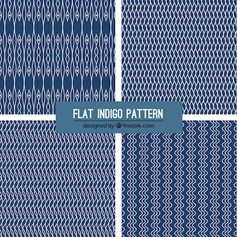 フォー藍パターン