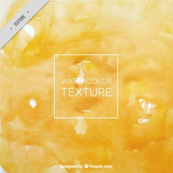 Желтый текстуры акварель
