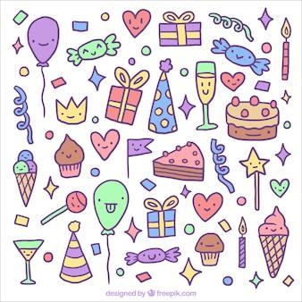 誕生日のお祝いに面白い要素