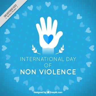 非暴力の背景の国際デー