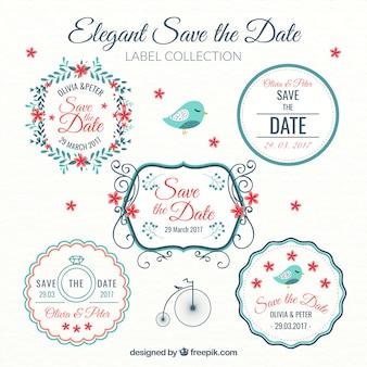 Красивые наклейки украшения свадьбы