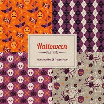 ハロウィーンの装飾パターン