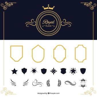Пакет щитов и декоративных элементов