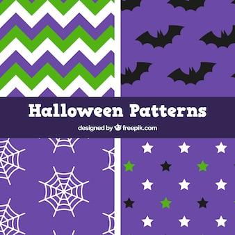 Плоские минималистские структуры для хэллоуина